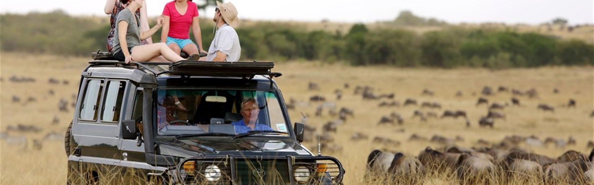 Putování za velkou pětkou s českým průvodcem - Safari v Keni_Masai Mara