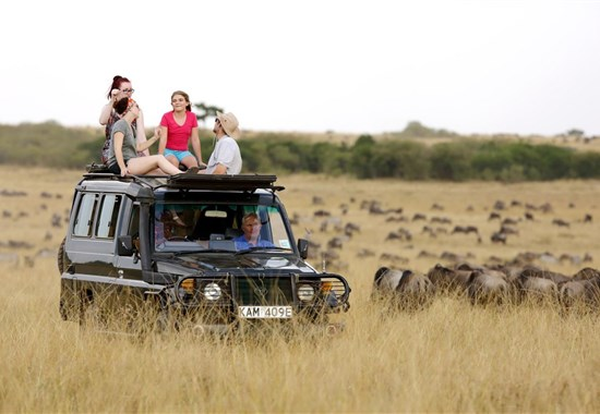 Putování za velkou pětkou s českým průvodcem - Keňa