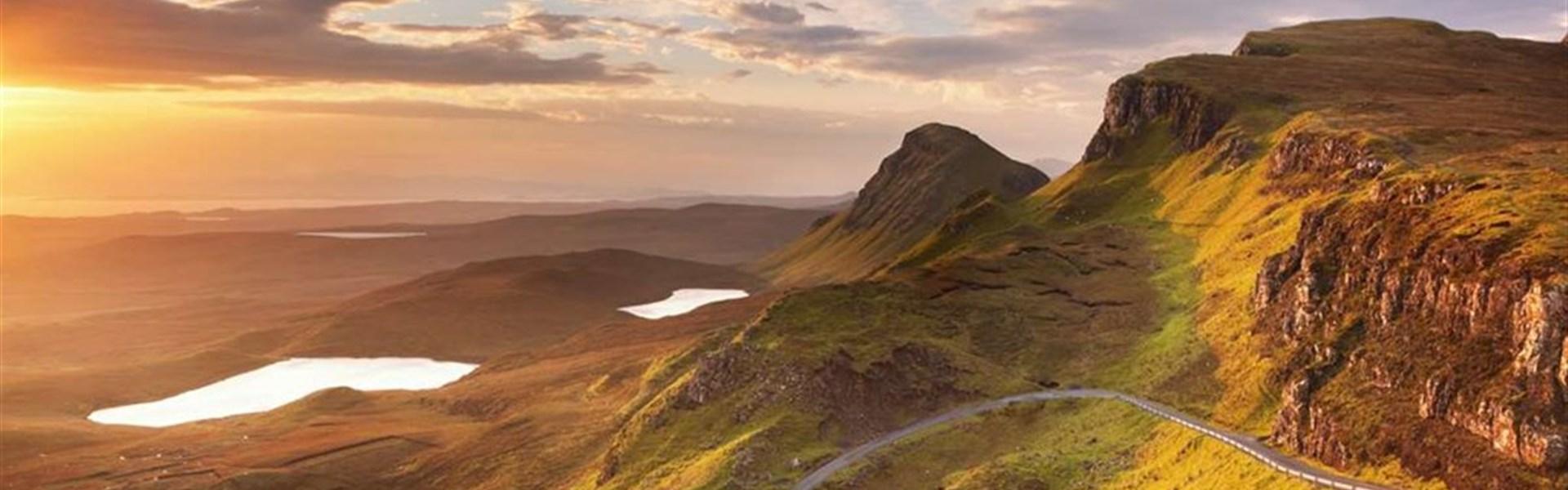 Skotsko pro pohodovou partu: Whisky, Gin a příroda -