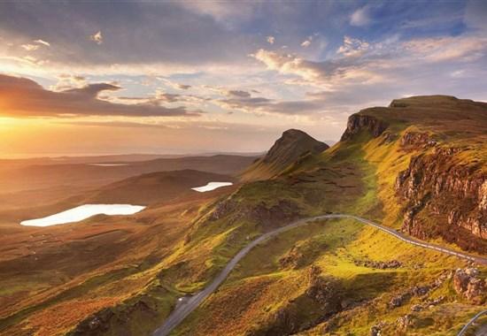 Skotsko pro pohodovou partu: Whisky, Gin a příroda - Skotsko -