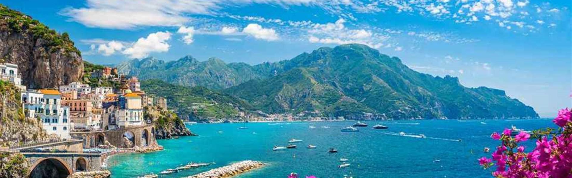 Dámská jízda: Jižní Itálií za vínem, mořem a odpočinkem - Amalfi