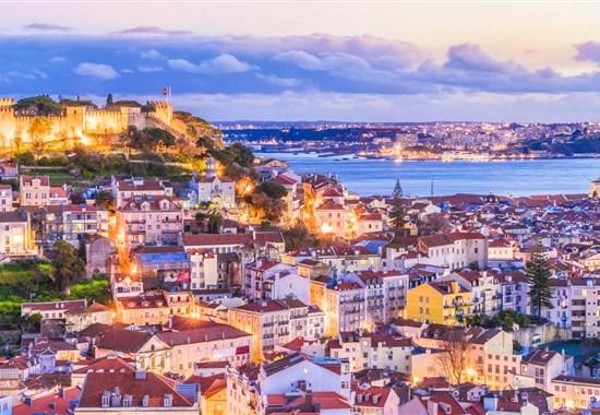 Prodloužený víkend s českým průvodcem: Lisabon - Sintra - Sesimbra - Arrábida - Portugalsko -