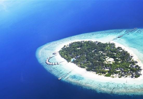 Adaaran Select Meedhupparu - Indický oceán - adaaran select meedhupparu_pohled z dronu