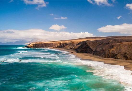 Za krásami Kanárských ostrovů s průvodcem: Gran Canaria-Fuerteventura-Lanzarote - Lanazarote - Ostrov Fuerteventura - Dovolená s CK Marco Polo