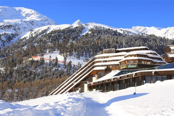 Marco Polo - Blu Hotel Senales: Zirm-Cristal -
