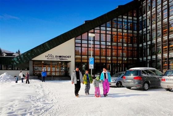 Marco Polo - Wellness Hotel Svornost - zima -