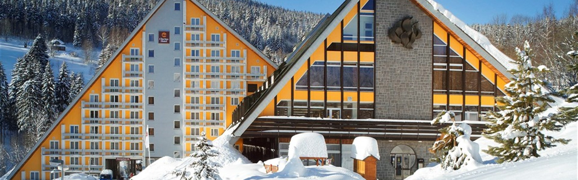 Marco Polo - Clarion Hotel Špindlerův Mlýn - zima -