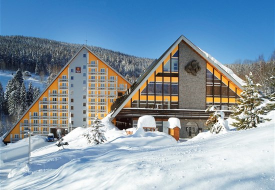 Clarion Hotel Špindlerův Mlýn - zima - Evropa