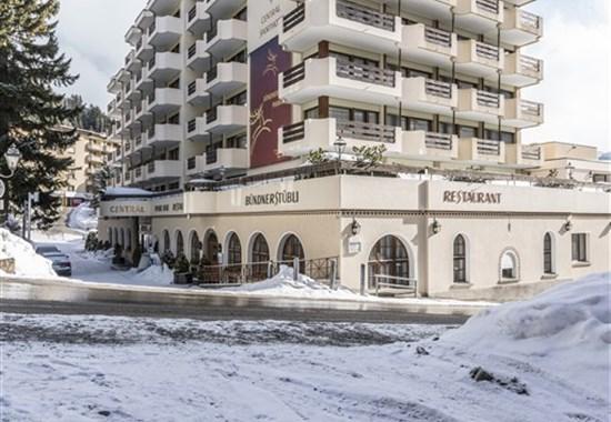 Central Sporthotel Davos - Švýcarsko -