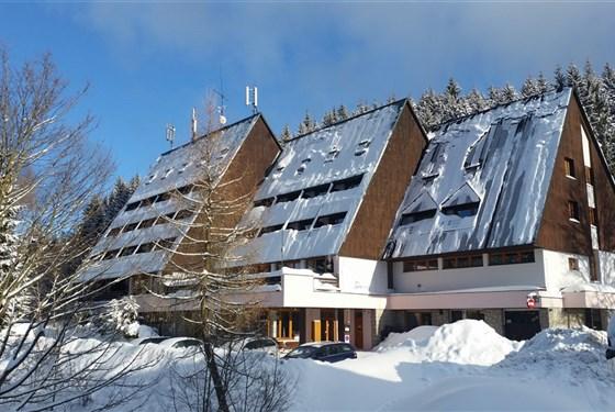 Marco Polo - Parkhotel Harrachov - zima -