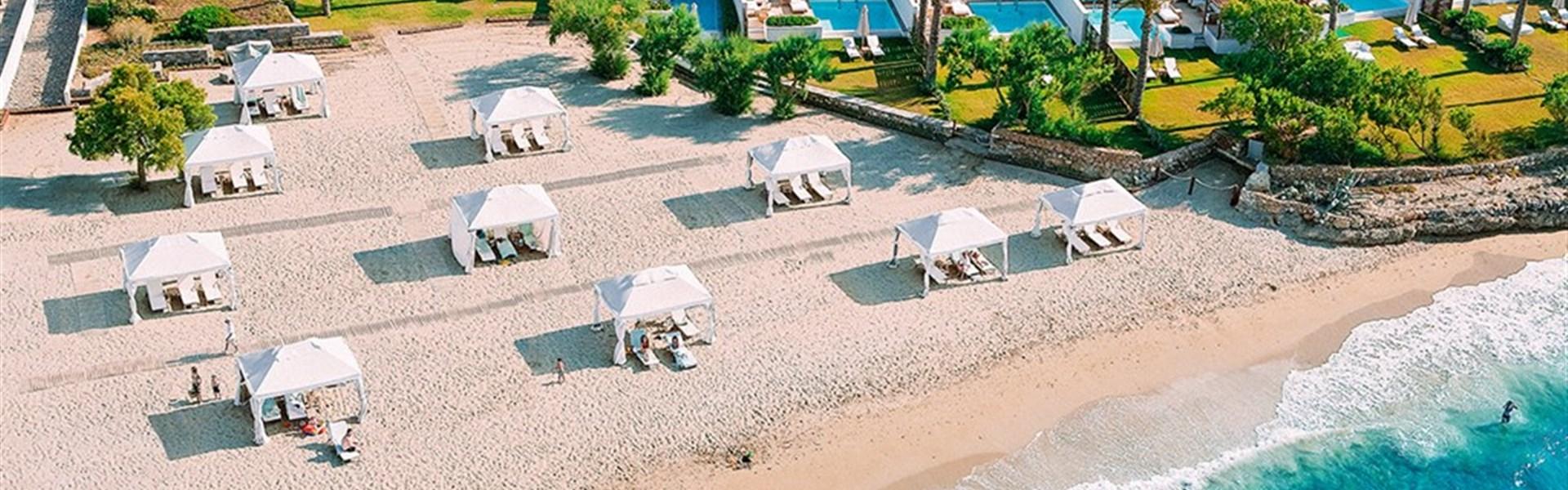Grecotel Amirandes 5* - vily na pláži
