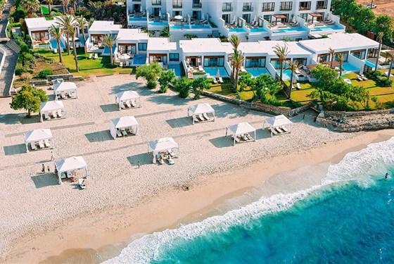 Marco Polo - Grecotel Amirandes 5* - vily na pláži