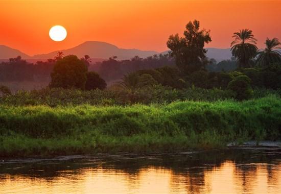 Plavba po Nilu s česky mluvícím průvodcem a pobyt u moře - Marsa Alam -