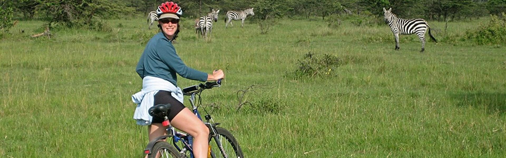 Netradiční Keňa na kole -