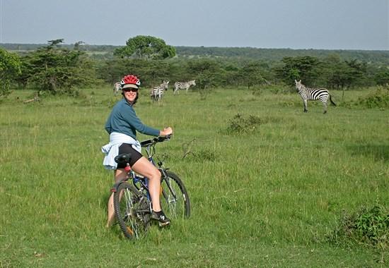 Netradiční Keňa na kole - Afrika