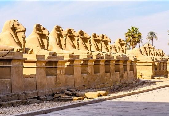 Památky Luxoru s českým průvodcem a pobyt u moře - Hurgada -