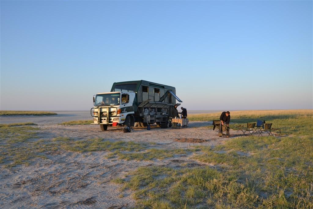 expedice v náklaďáku